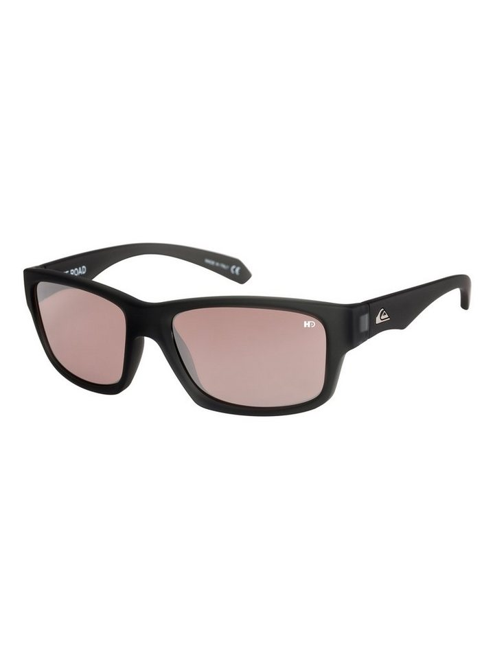 Quiksilver Sonnenbrille »Off Road Hd Polarized« in Grey/grey/pink