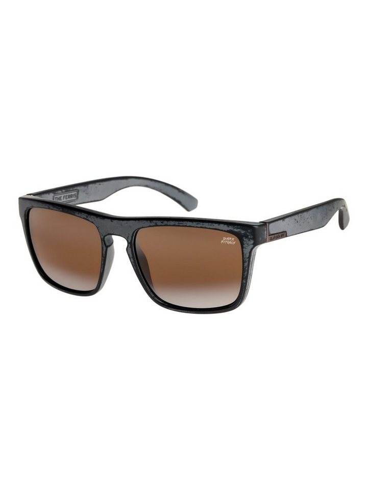 Quiksilver Sonnenbrille »The Ferris Dark Rituals« in Black/black/grey