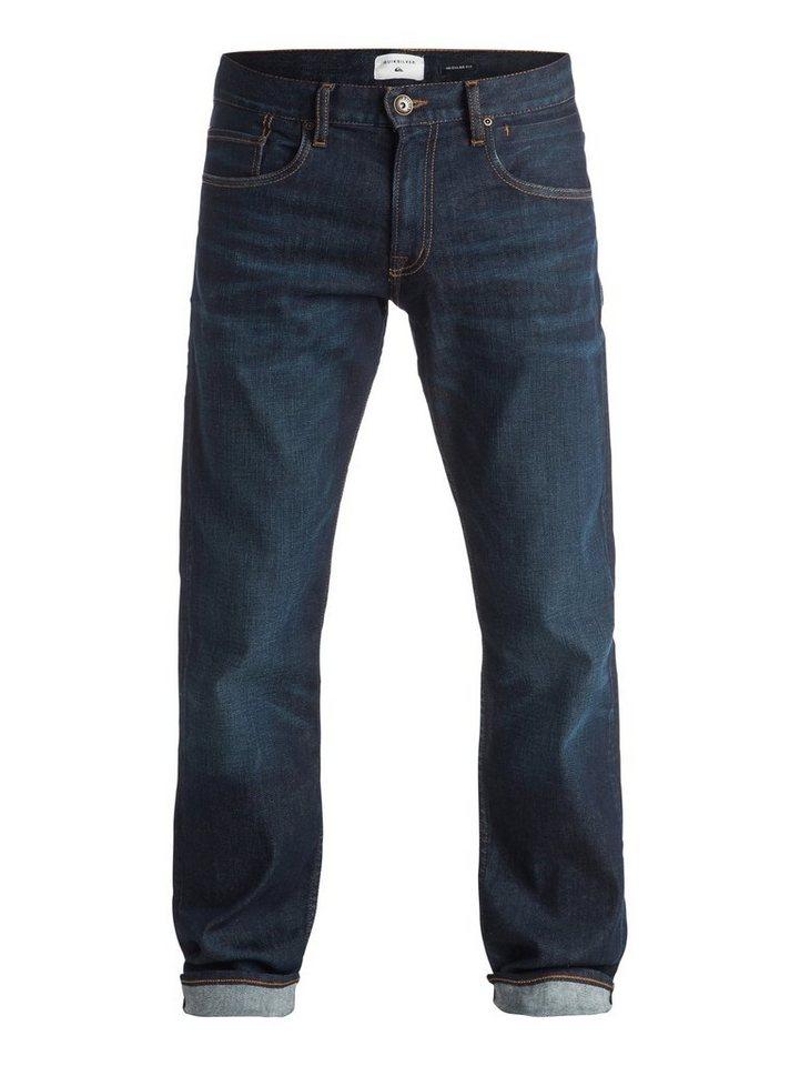 Quiksilver Regular Fit jean »Sequel Icy Blue 34« in Peacoat
