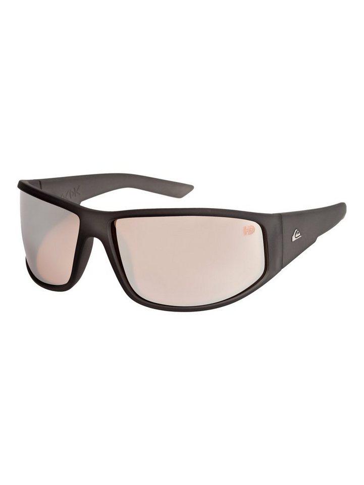 Quiksilver Sonnenbrille »Akka Dakka Hd« in Black/black/pink