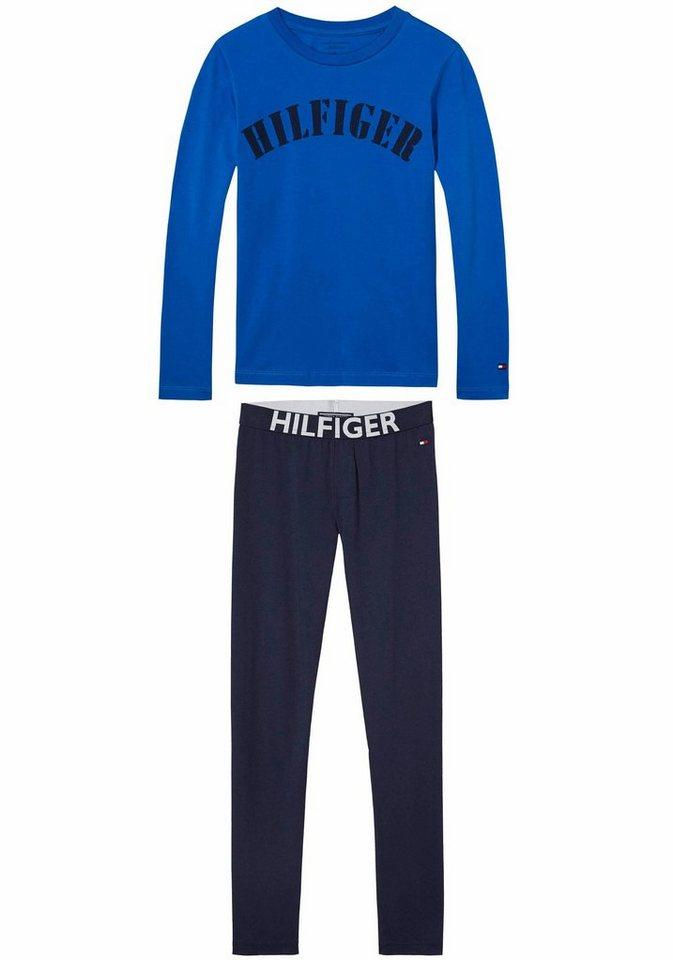 Tommy Hilfiger Pyjama Set in blau+navy