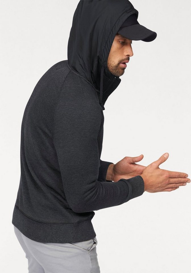 Converse Kapuzensweatshirt in anthrazit