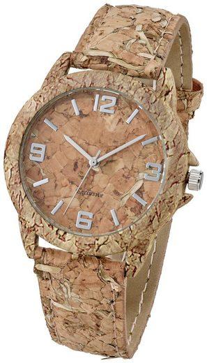 Heine Armbanduhr aus echtem Kork