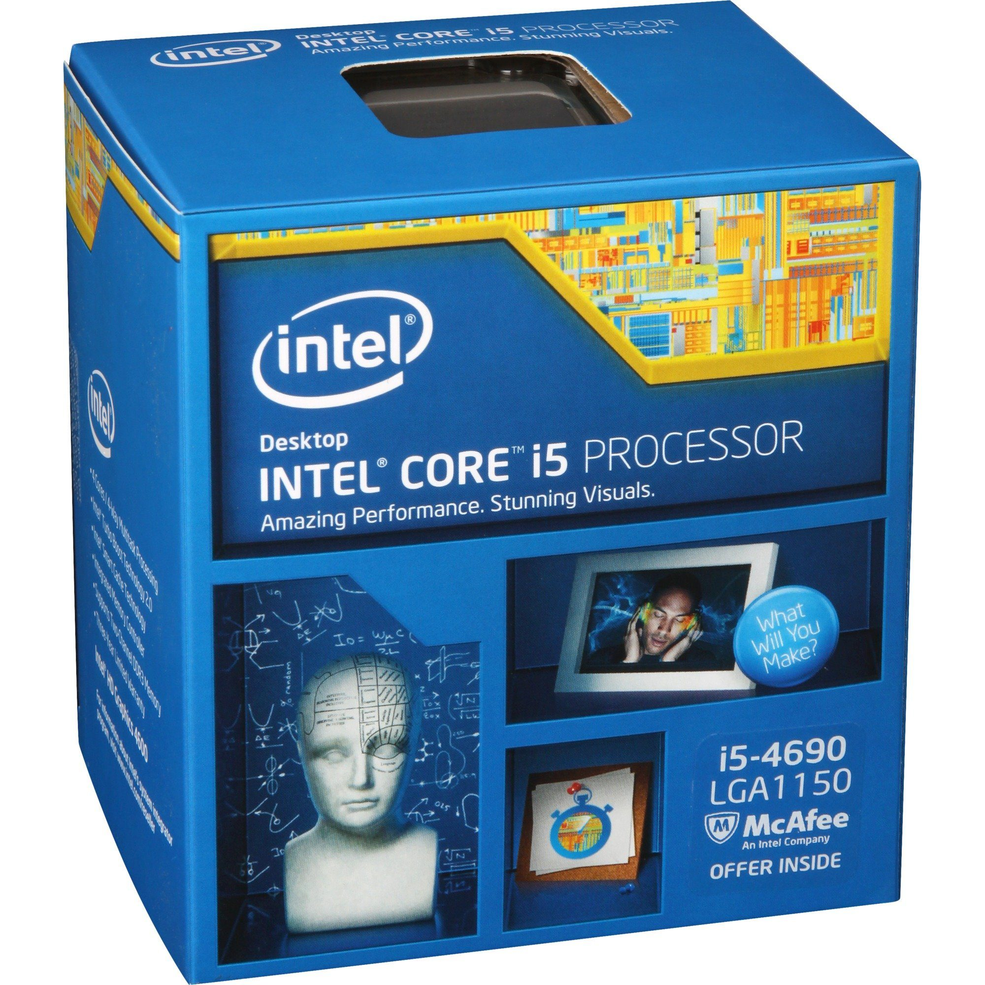 Intel® Prozessor »Core(TM) i5-4690«