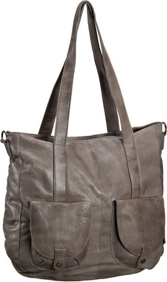 Greenburry Stainwashed Shopper in Taupe