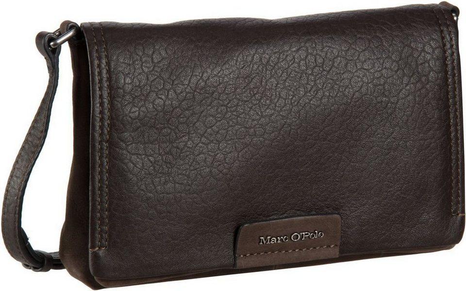 Marc O'Polo Lea Crossbody Bag M in Dark Brown