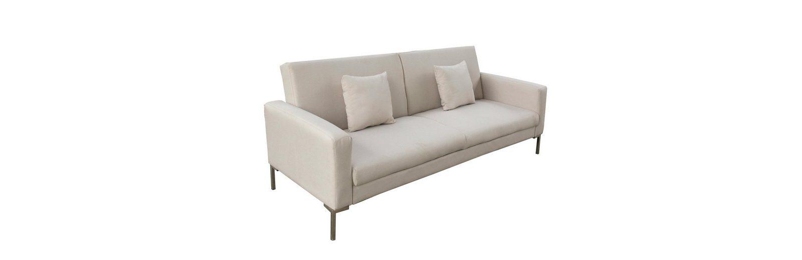 massivum Sofa aus Flachgewebe »Snowpeak «