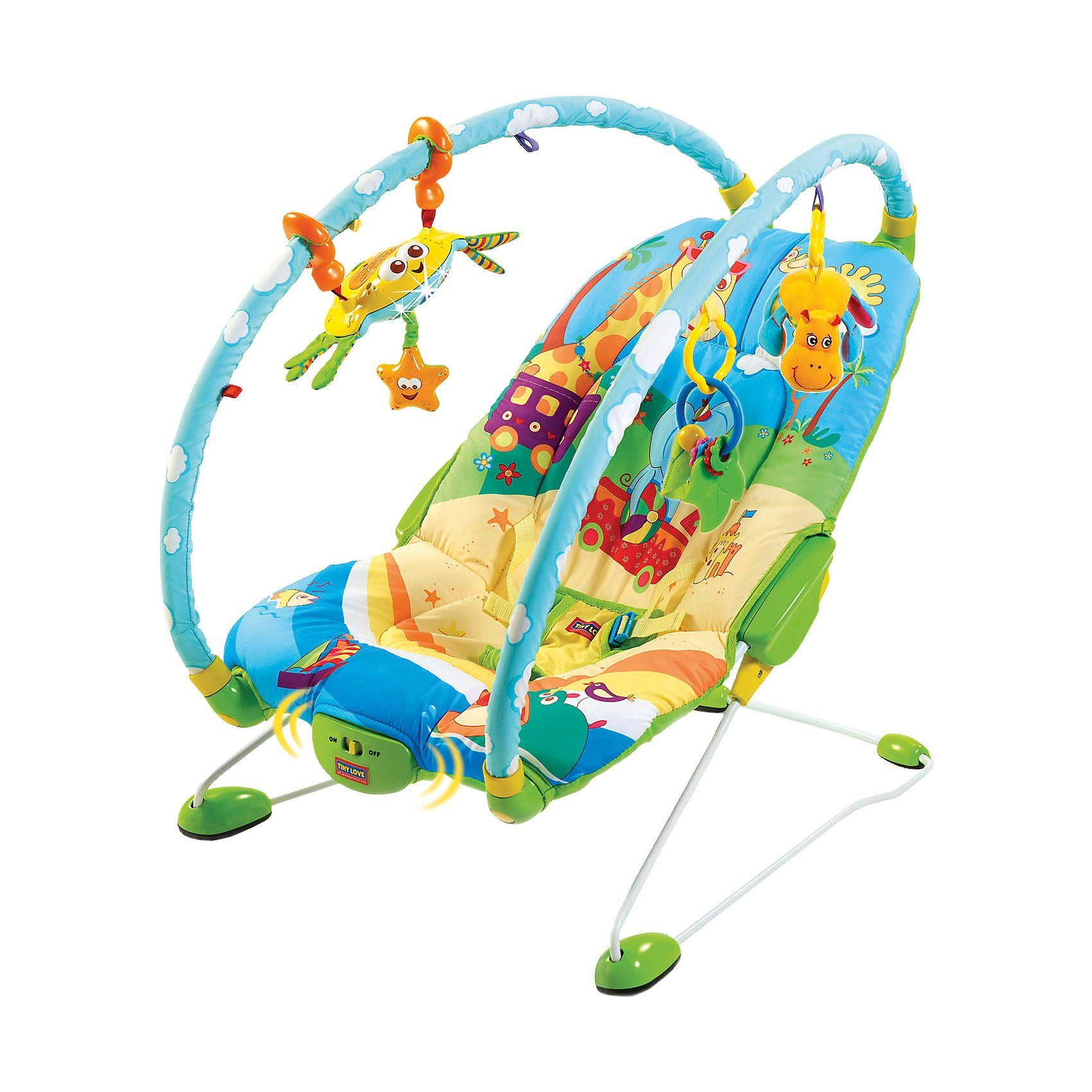 Tiny Love Gymini Wippe Bouncer Tierwelt