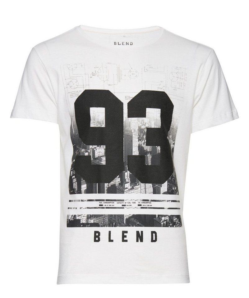 Blend T-Shirt in Schwarz