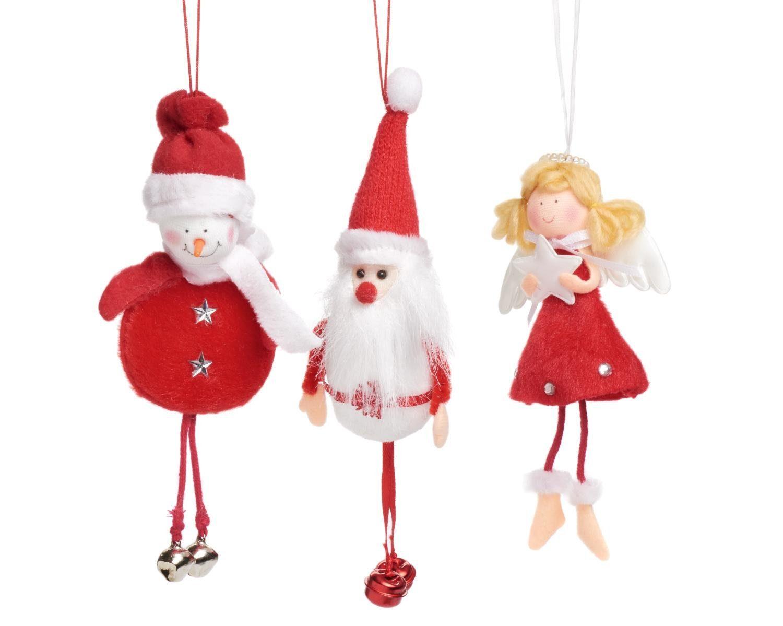 """VBS Anhänger """"Weihnachtsfiguren"""", 3er-Set"""
