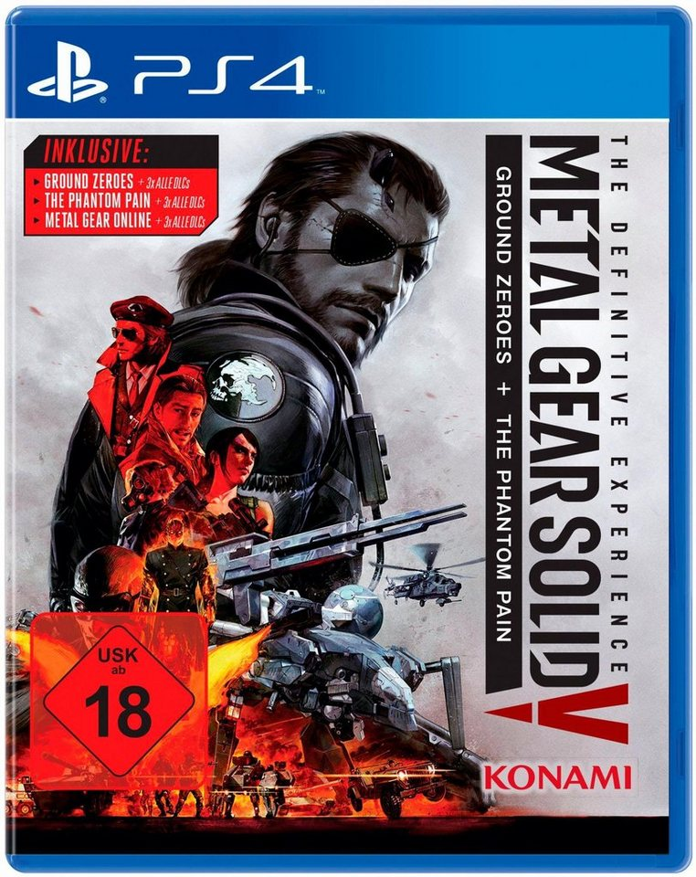 Metal Gear Solid V: The Definitive Edition PlayStation 4