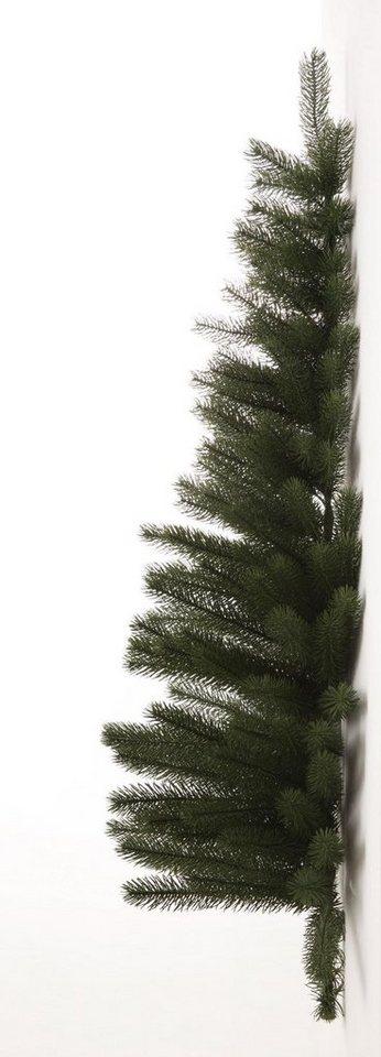 premium tannenbaum in halbform u erst naturgetreues ppiges nadelwek online kaufen otto. Black Bedroom Furniture Sets. Home Design Ideas