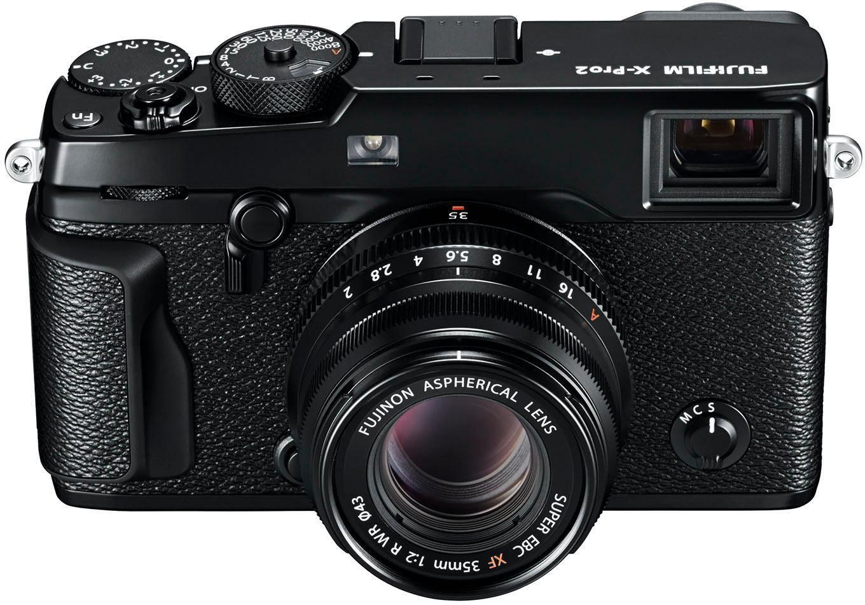 FUJIFILM X-Pro2/XF35mm F2.0 System Kamera, FUJINON XF35mm F2 R WR Normalobjektiv, 24,3 Megapixel
