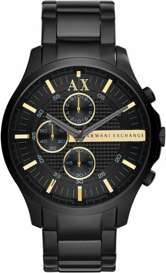 ARMANI EXCHANGE Chronograph »AX2164« in schwarz