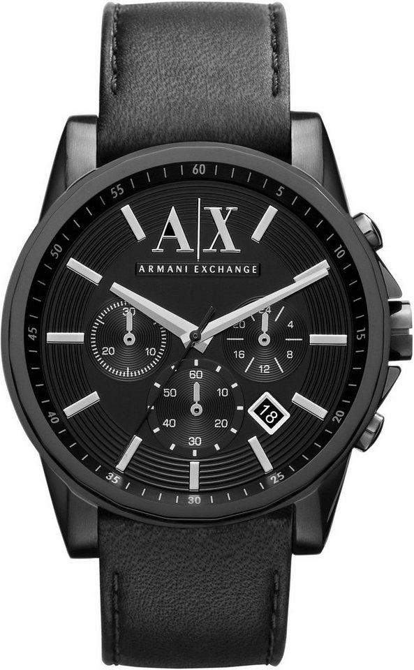 ARMANI EXCHANGE Chronograph »AX2098« in schwarz