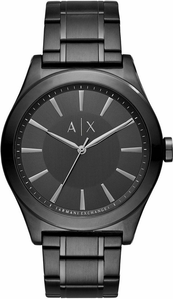 ARMANI EXCHANGE Quarzuhr »AX2322« in schwarz