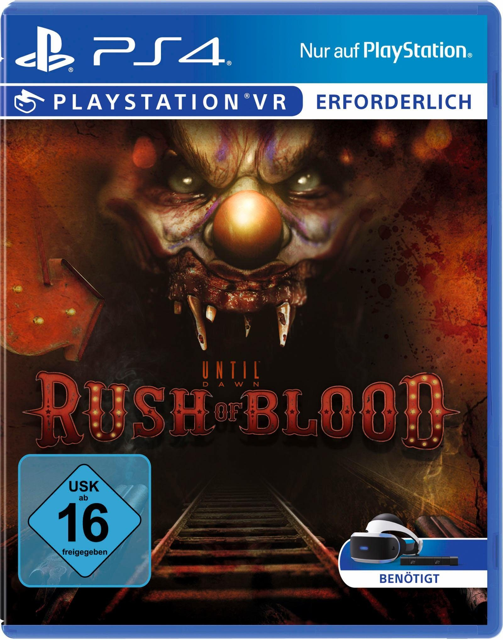 Until Dawn: Rush of Blood VR PlayStation 4