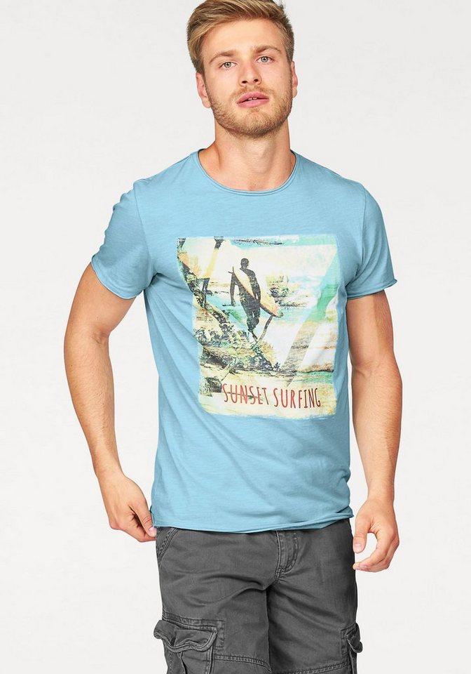John Devin T-Shirt in hellblau