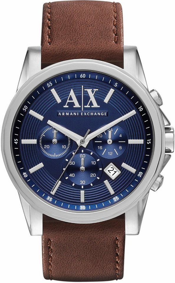 ARMANI EXCHANGE Chronograph »AX2501« in dunkelbraun