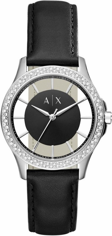 ARMANI EXCHANGE Quarzuhr »AX5253« in schwarz