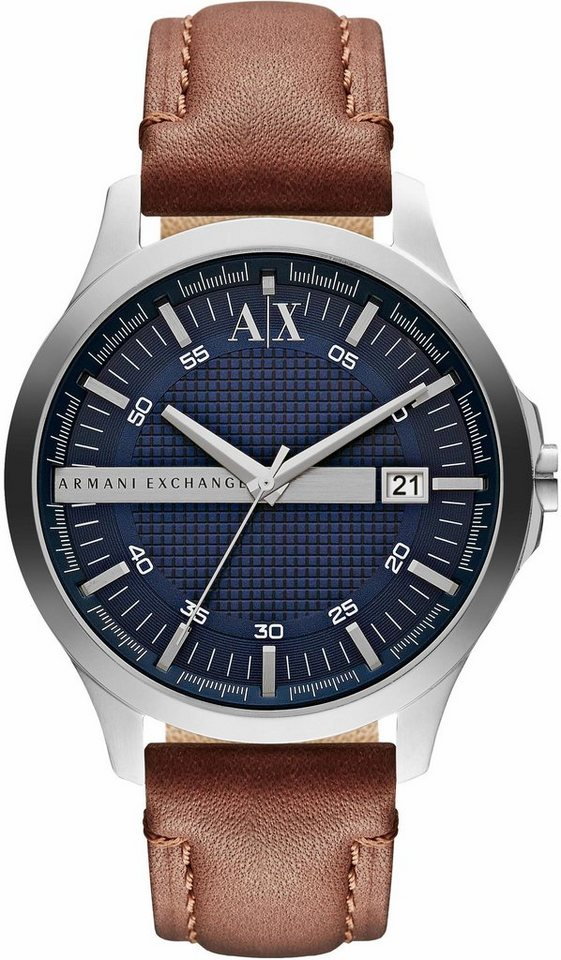 ARMANI EXCHANGE Quarzuhr »AX2133« in dunkelbraun