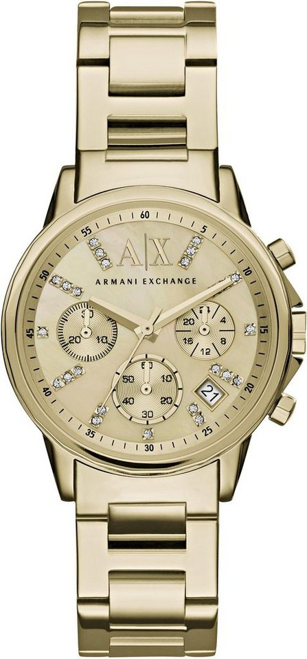 ARMANI EXCHANGE Chronograph »AX4327« in goldfarben