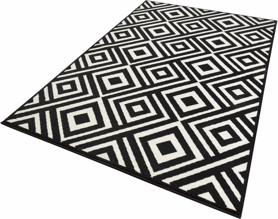 Teppich, Zala Living, »Art«, gewebt in schwarz creme