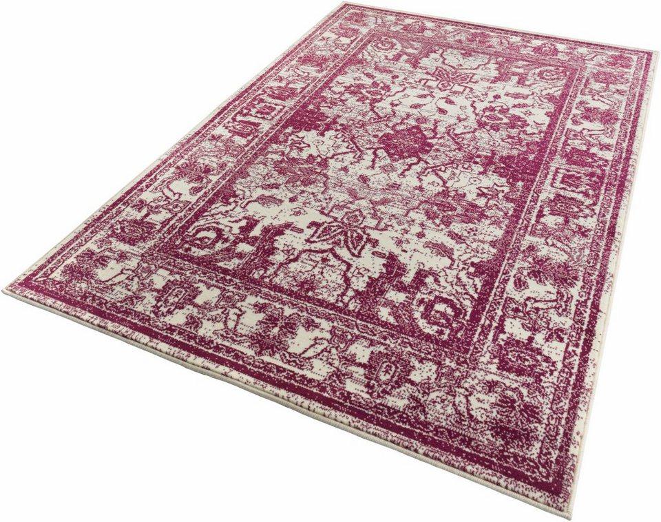 Teppich, Zala Living, »Glorious«, gewebt in violett