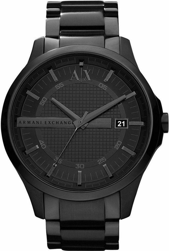 ARMANI EXCHANGE Quarzuhr »AX2104« in schwarz