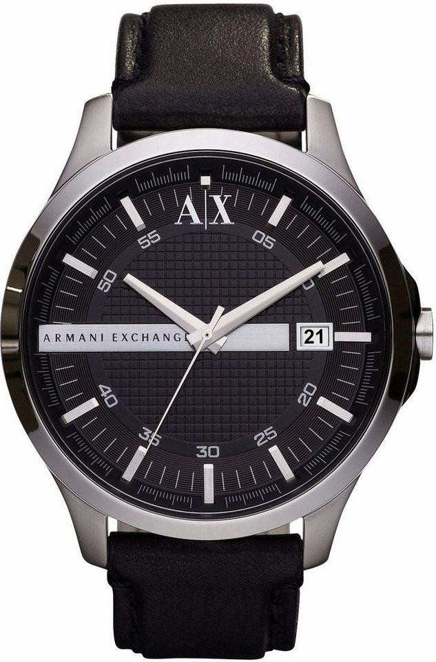 ARMANI EXCHANGE Quarzuhr »AX2101« in schwarz