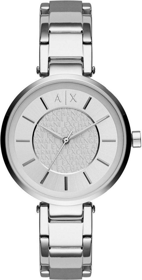 ARMANI EXCHANGE Quarzuhr »AX5315« in silberfarben