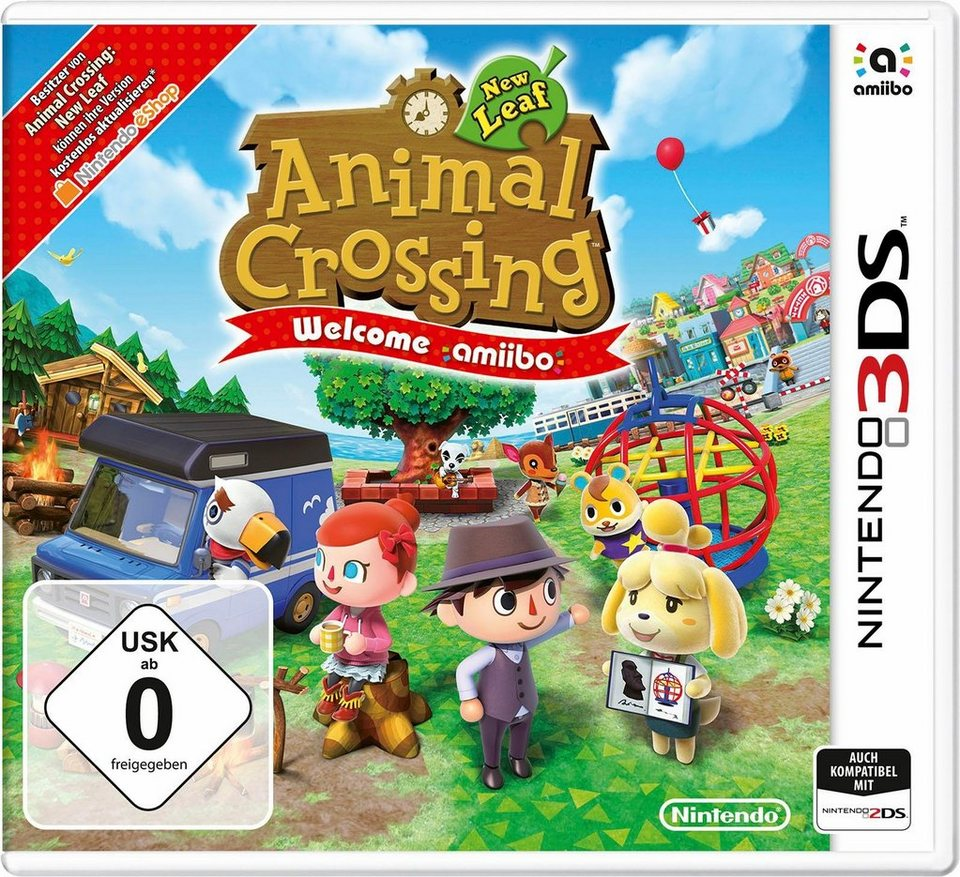 Animal Crossing: New Leaf - Welcome amiibo Nintendo 3DS