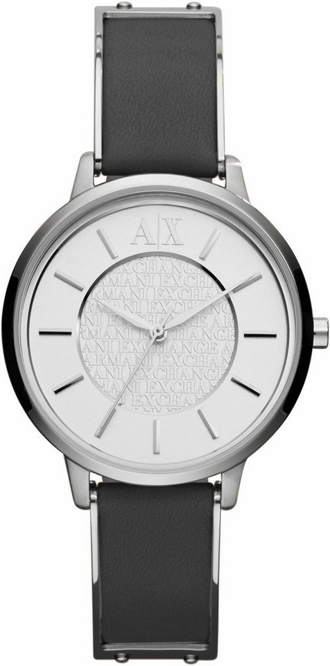 ARMANI EXCHANGE Quarzuhr »AX5309« in schwarz-silberfarben