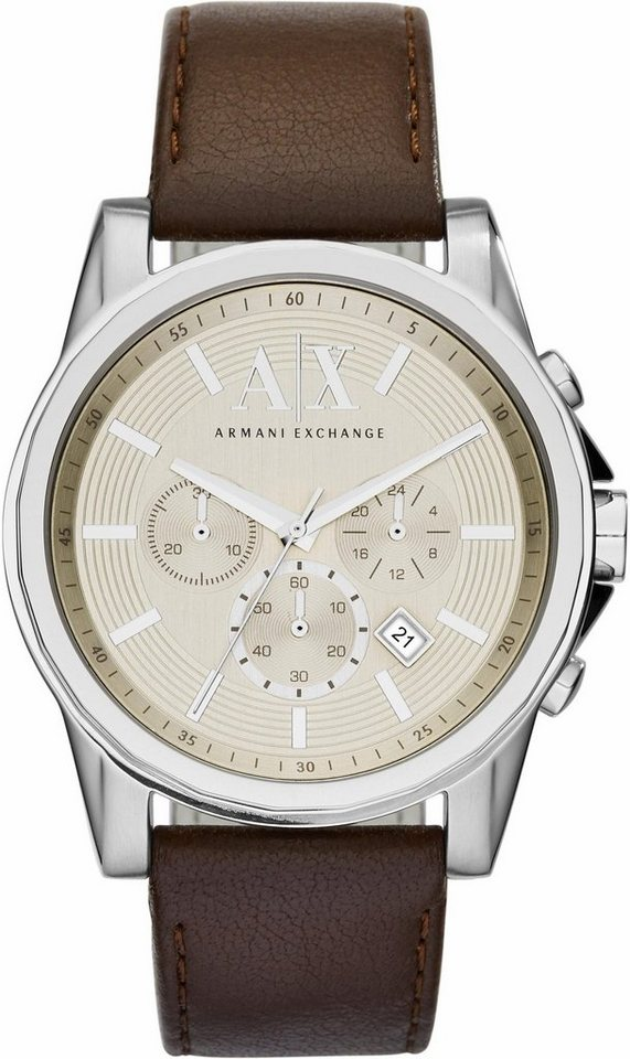 ARMANI EXCHANGE Chronograph »AX2506« in dunkelbraun