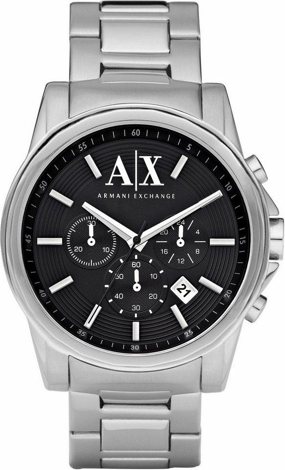 ARMANI EXCHANGE Chronograph »AX2084« in silberfarben