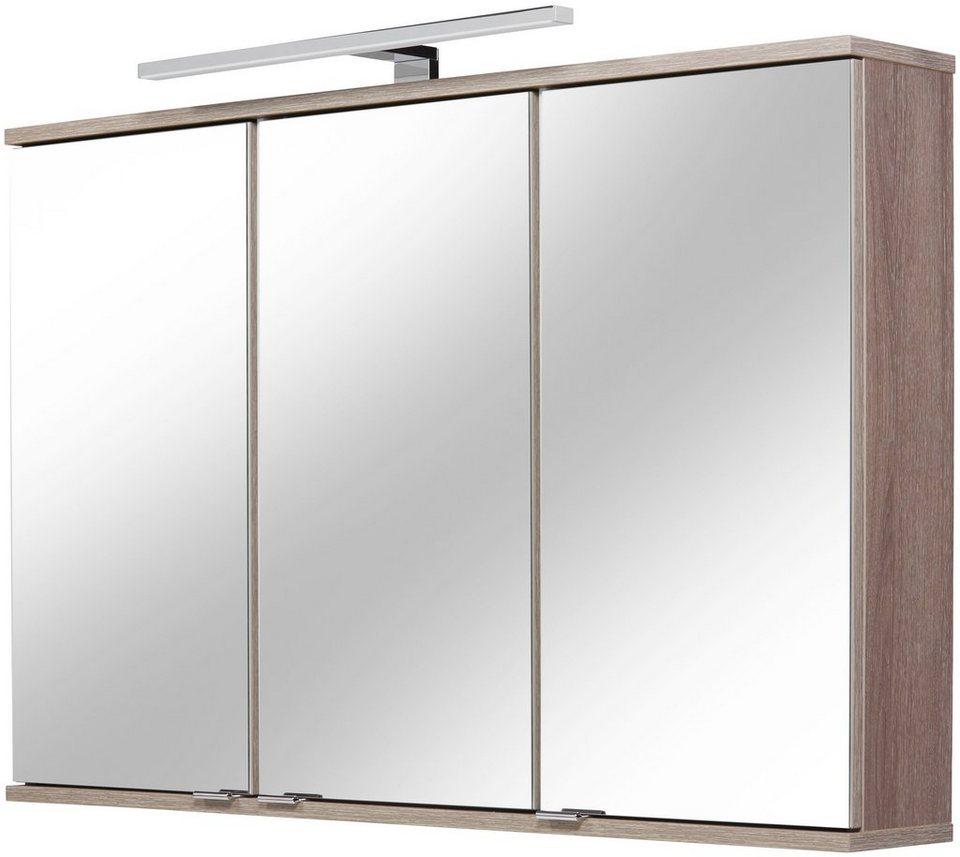 FACKELMANN Spiegelschrank »Lavella und Rondo«, Breite 100,5 cm ...