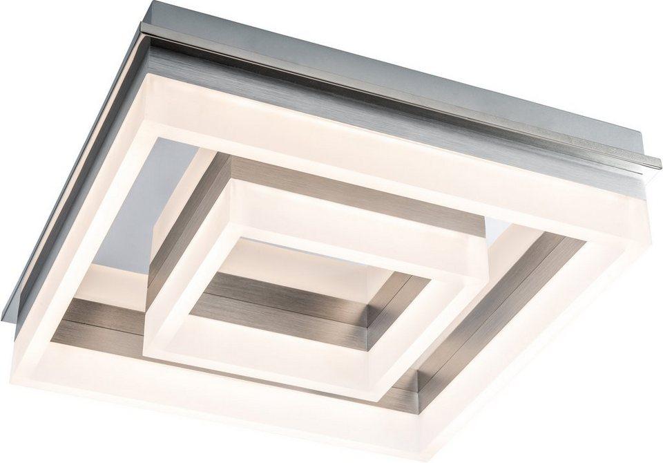 Nino Leuchten LED-Deckenleuchte, »LENNOX« in chromfarben, weiß