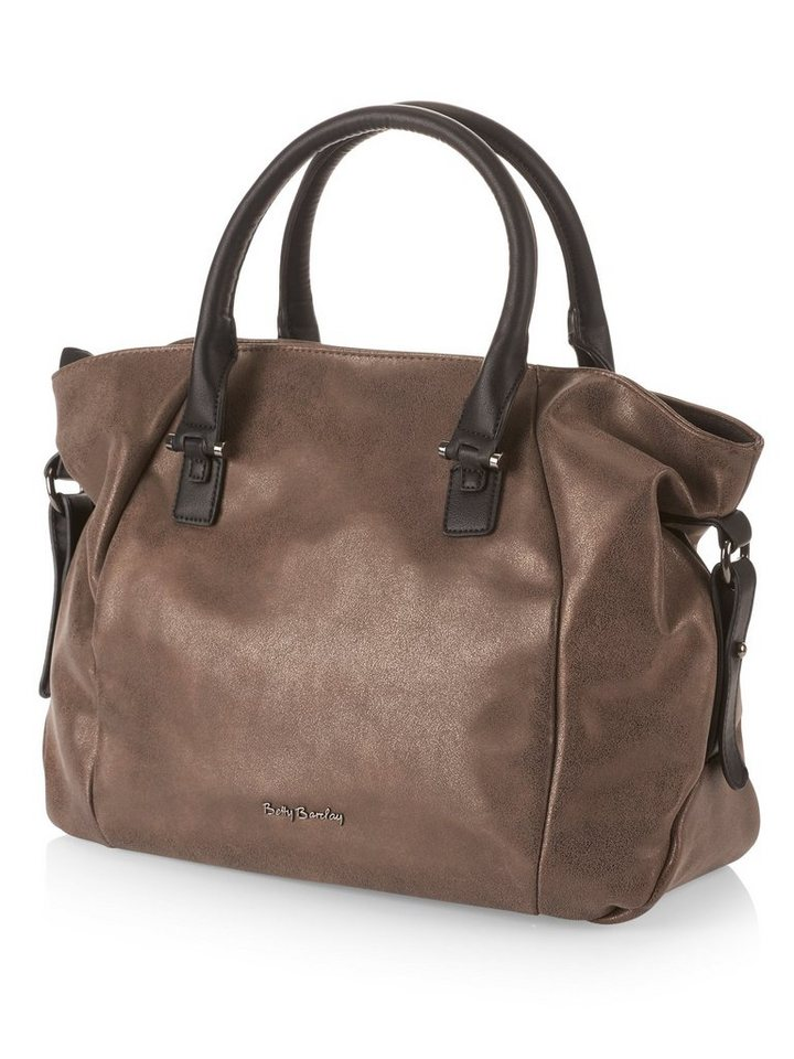 Betty Barclay Braune Handtasche in Hellbraun - Bunt