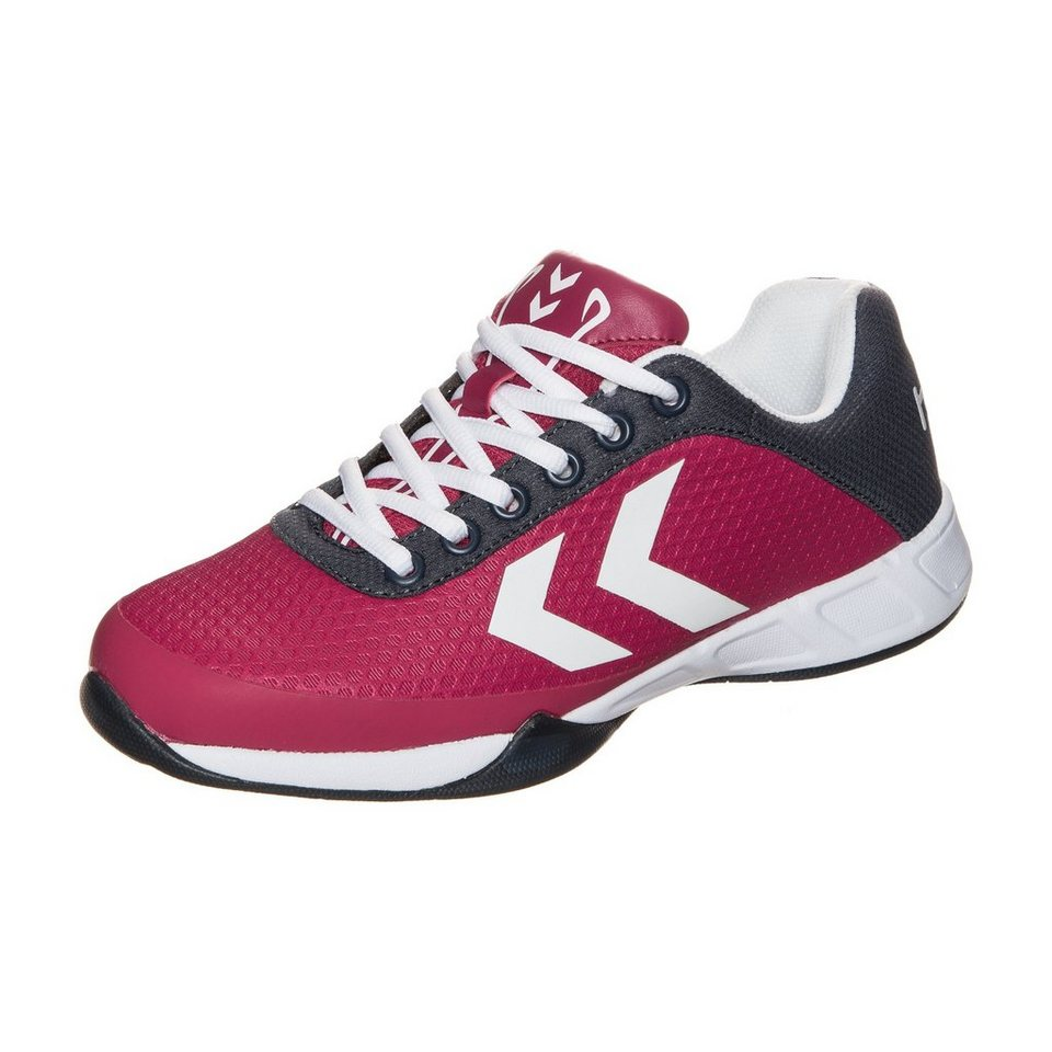 HUMMEL TEAMSPORT Root Play Handballschuh Damen in fuchsia / grau