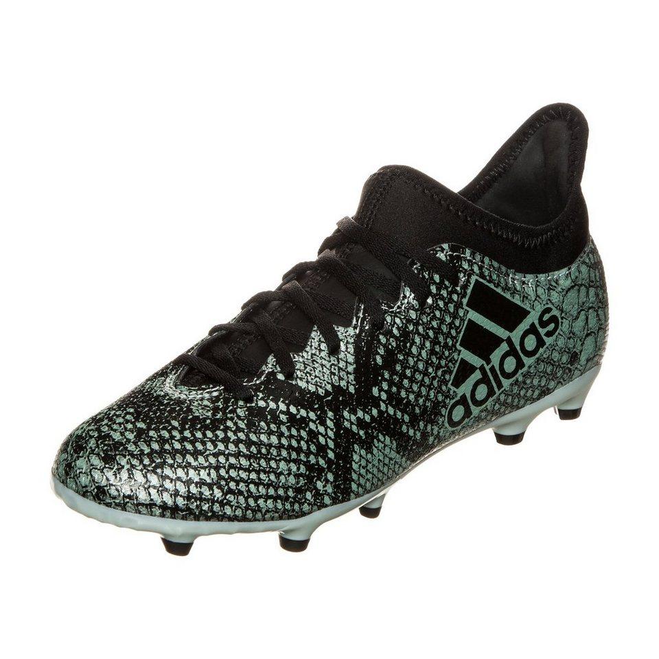 adidas Performance X 16.3 FG Fußballschuh Kinder in mint / schwarz