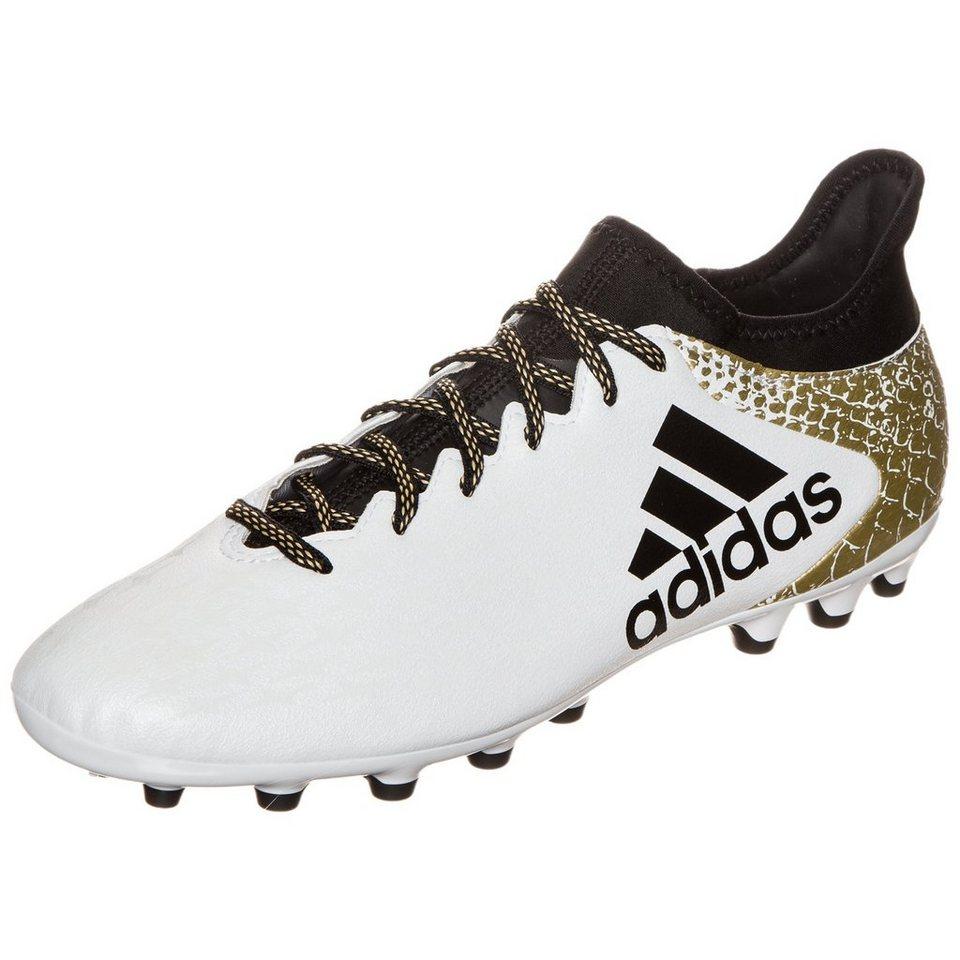 adidas Performance X 16.3 AG Fußballschuh Herren in weiß / gold