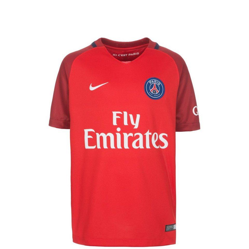 NIKE Paris Saint-Germain Trikot Away 2016/2017 Kinder in rot / bordeaux