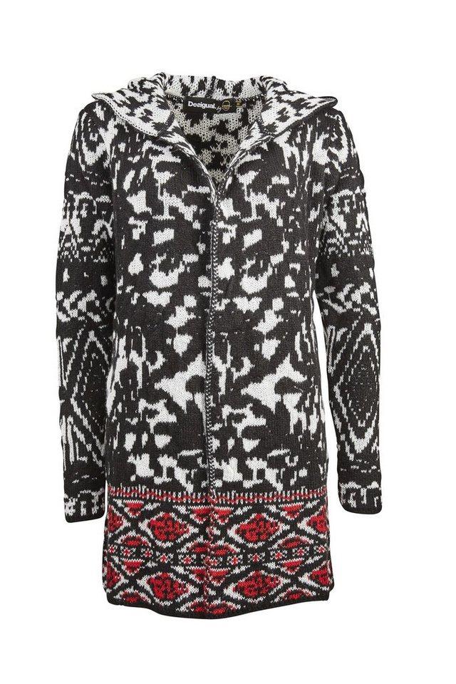 Desigual Pullover »JERS BLACK« in schwarz