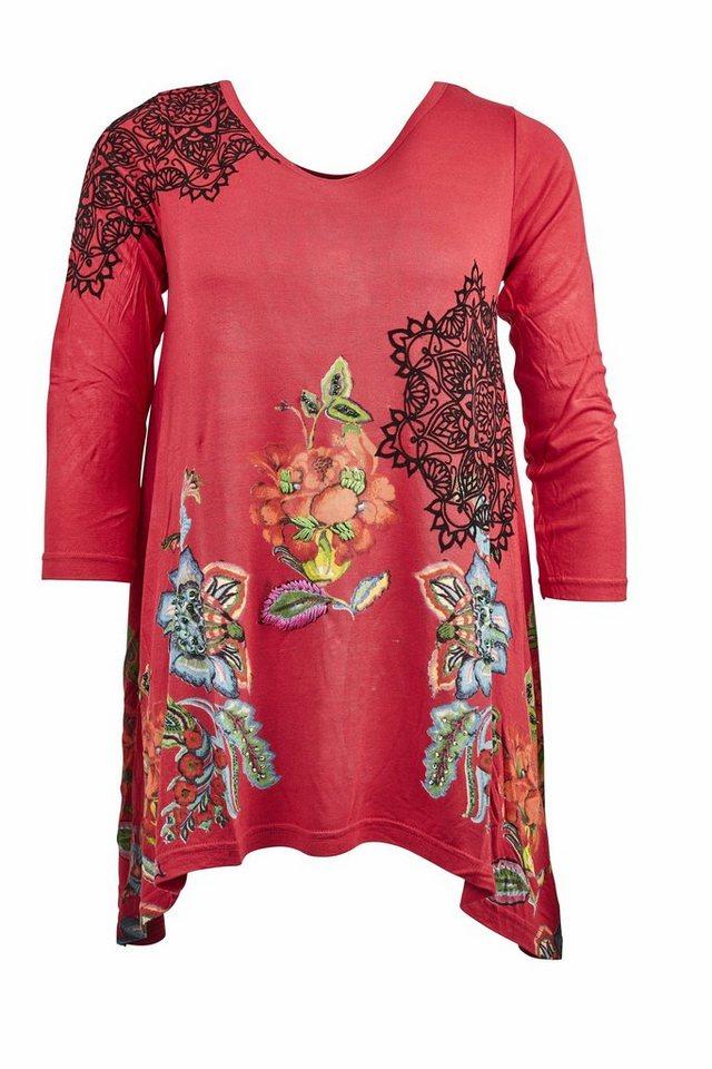 Desigual T-Shirt »TS RAMONA« in rot
