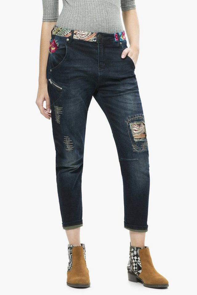 Desigual Jeans »DENIM PETRA« in blau