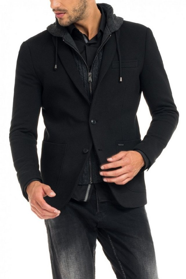 salsa jeans Outdoorjacke »DAVIS« in Black