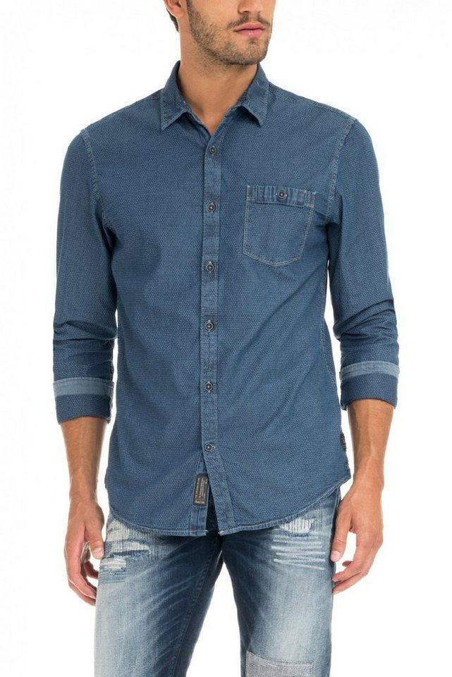 salsa jeans Hemd »BIRMINGHAM« in Blue