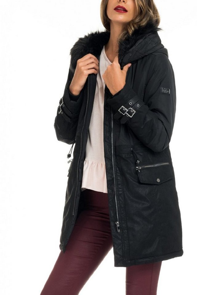 salsa jeans Outdoorjacke »ST MORITZ« in Black