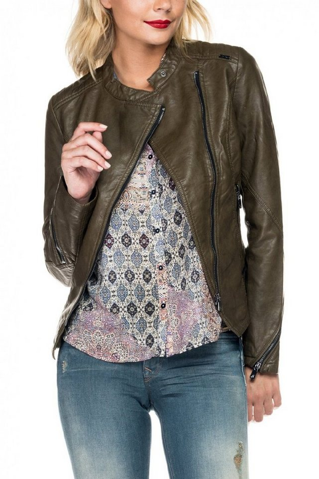 salsa jeans Outdoorjacke »BARCELONA« in Green