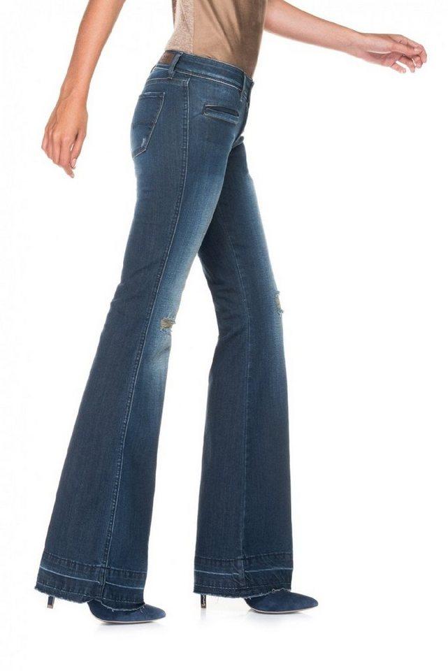 salsa jeans Jean »Flare/ Jane« in Blue